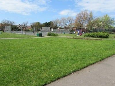 Childrens play areas Louie Horrocks Park
