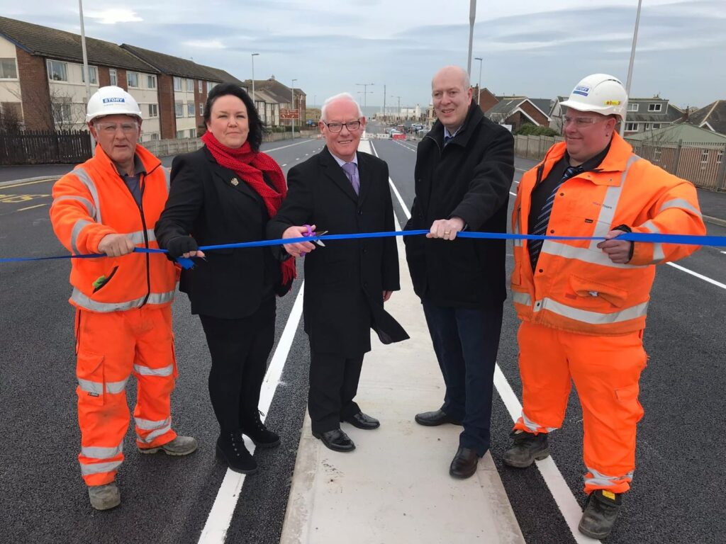Squires Gate Bridge being reopened after bridge repairs