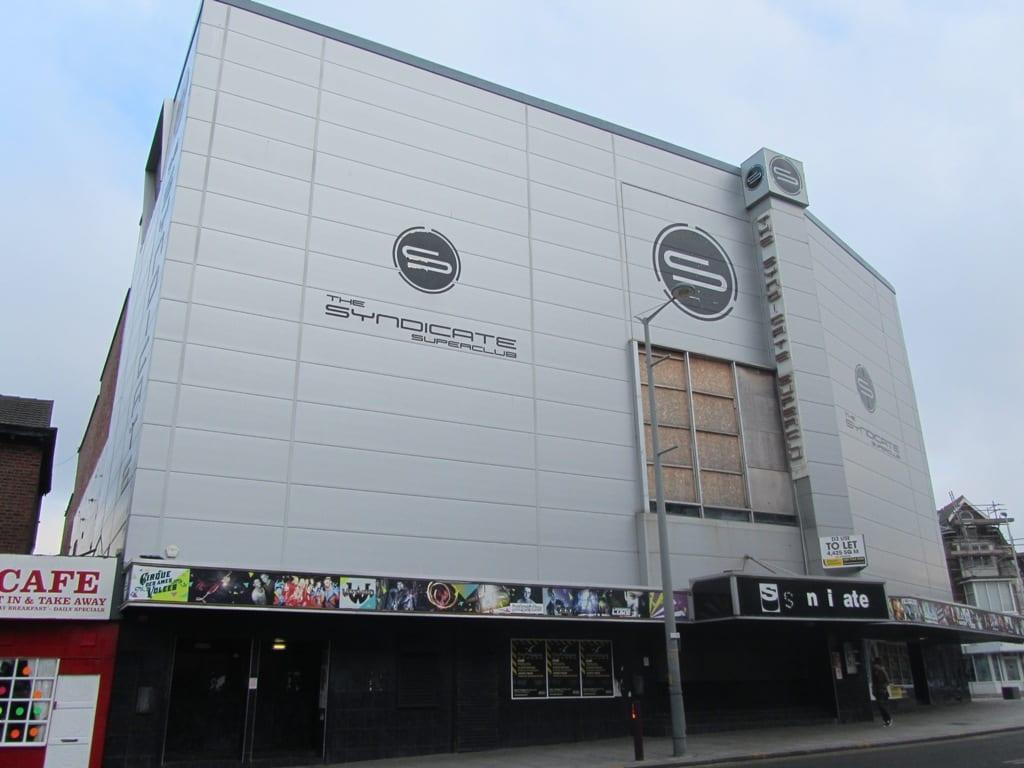 Syndicate nightclub Blackpool, 2013