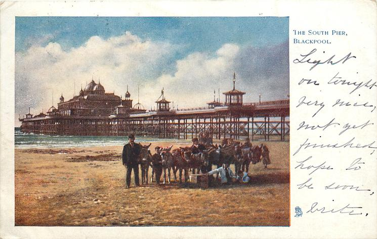 Blackpool Victoria Pier in 1903