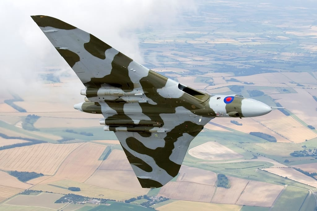 Vulcan, Image copyright of Eric Coeckelberghs and courtesy of Vulcan to the Sky Trust www.vulcantothesky.org
