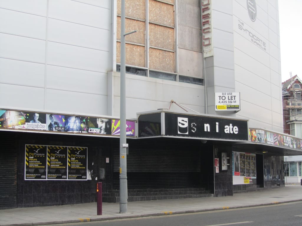 Syndicate nightclub in Blackpool