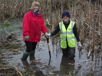 Volunteers at North Blackpool Pond Trail
