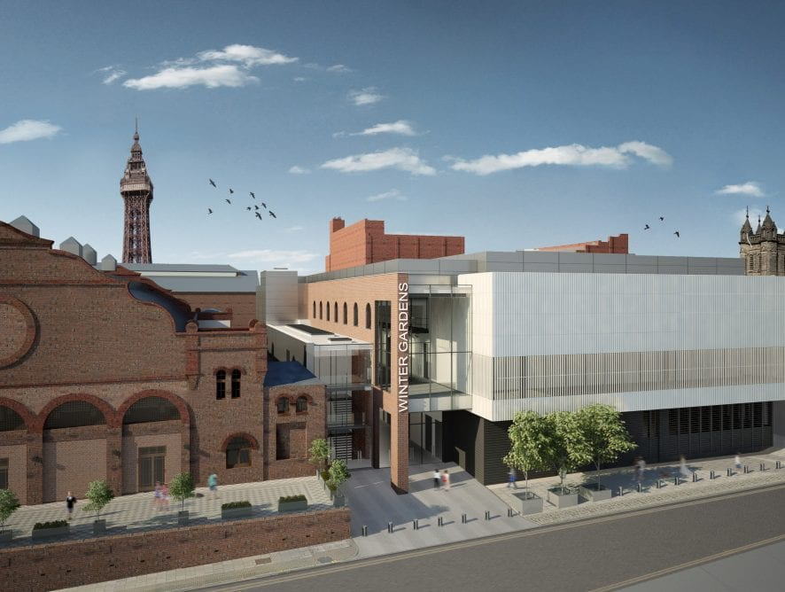 Artists impression of Blackpool's New Conference Centre.