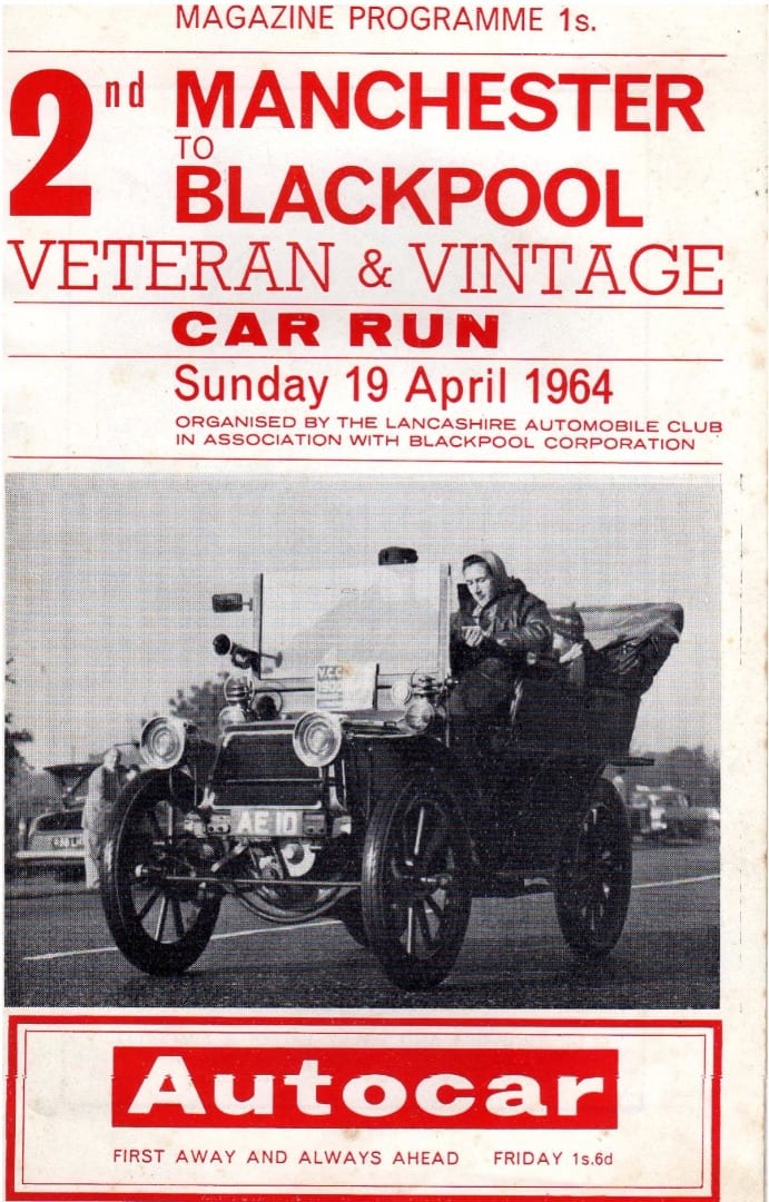 2nd Manchester to Blackpool Car Run 1964