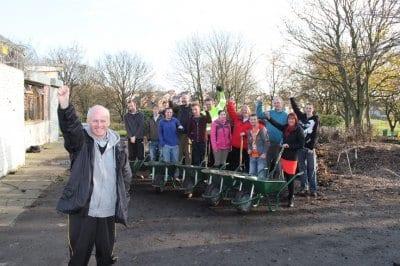 Volunteers at Kingscote Park