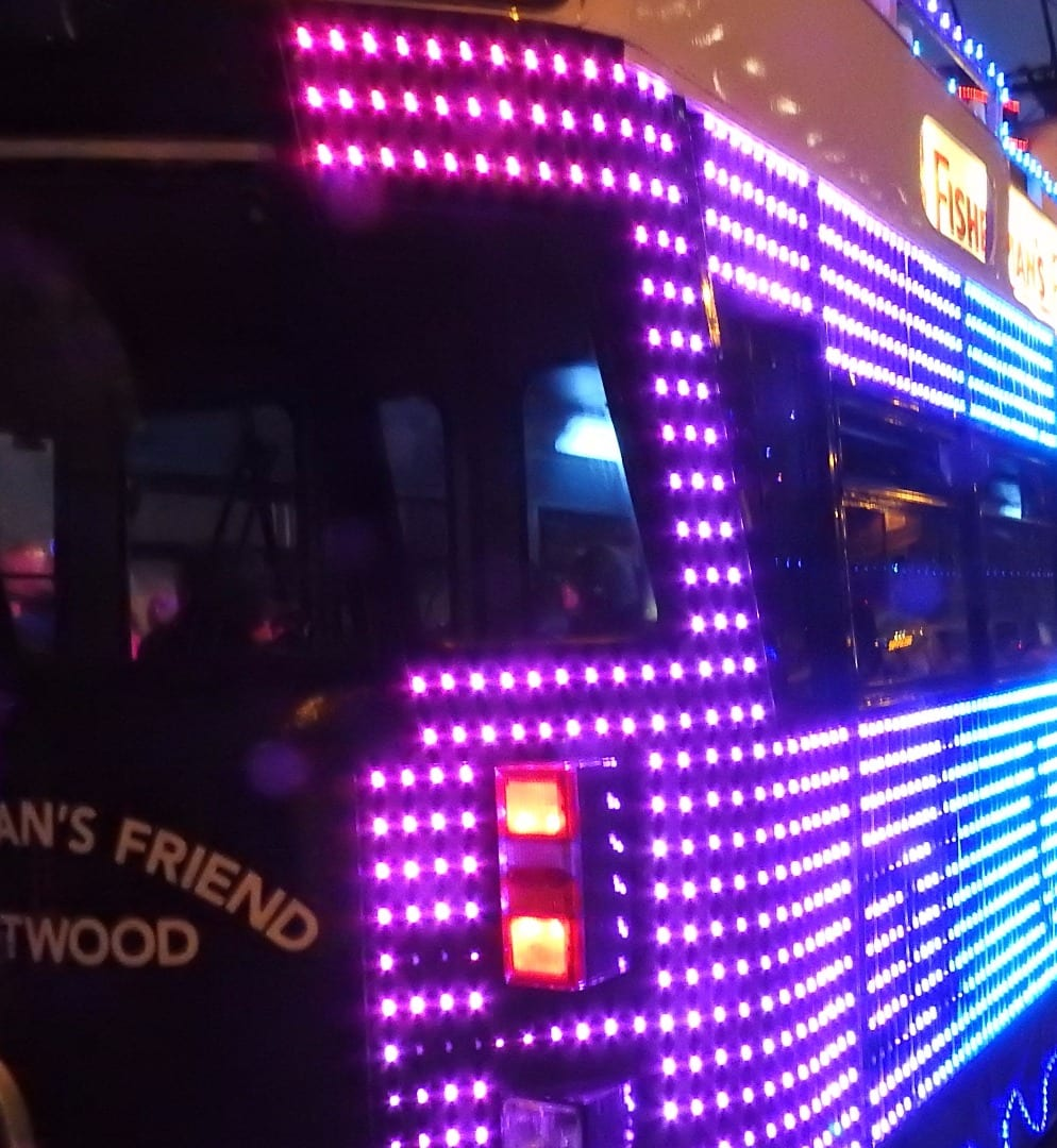 Fisherman's Friend Illuminated Tram