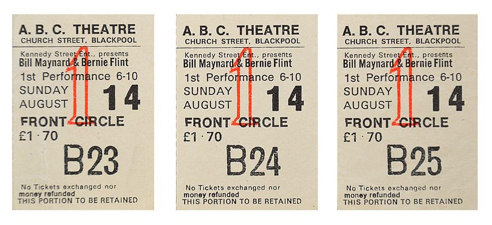 ABC Theatre tickets, Blackpool