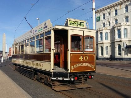 History of Heritage Tram Box Car 40
