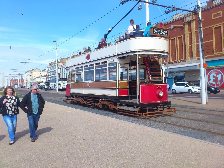 Blackpool Heritage Tram No 31