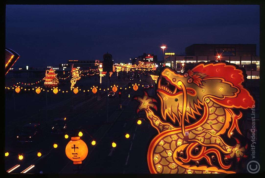 Blackpool Illuminations in the 1970s. Our Old Blackpool Photos - archives from Visit Fylde Coast
