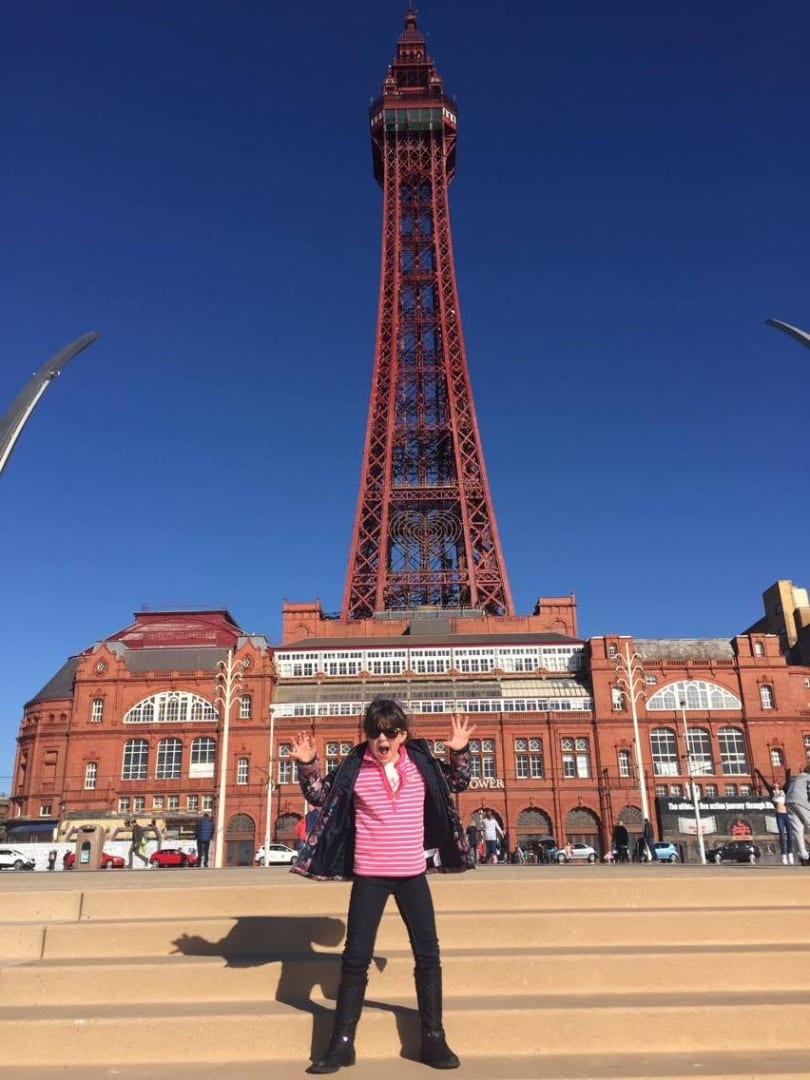 Blackpool Tower unveiled 31.3.16