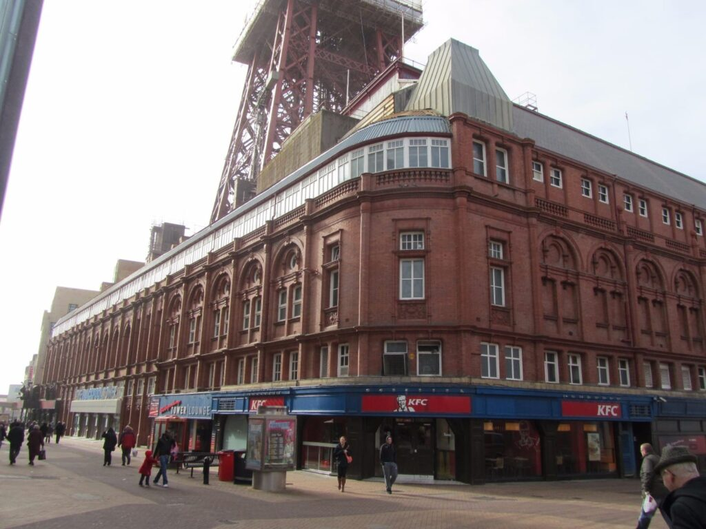 Blackpool Tower Complex at Bank Hey Street