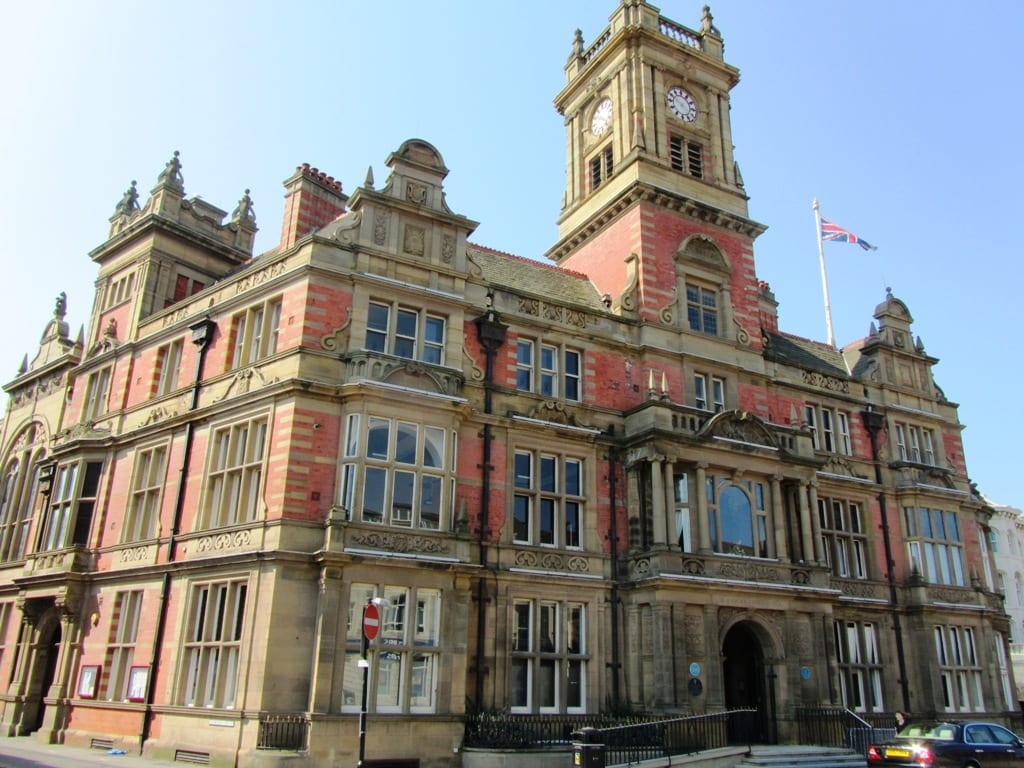 Blackpool Town Hall, where Blackpool Civic Trust monthly meetings are held