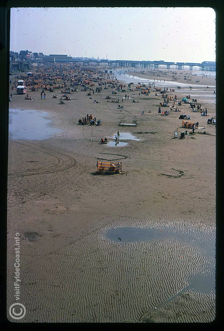 Blackpool beach. Our Old Blackpool Photos - archives from Visit Fylde Coast