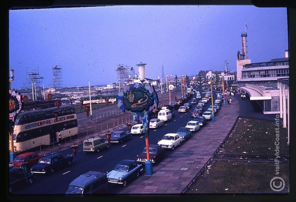 Blackpool south shore, 1970s.