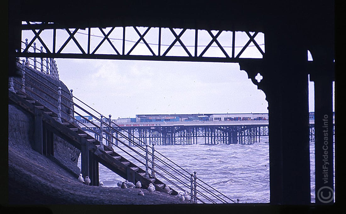 Blackpool sea wall. Our Old Blackpool Photos - archives from Visit Fylde Coast
