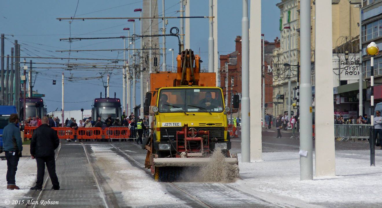 Blackpool trams in new feature film