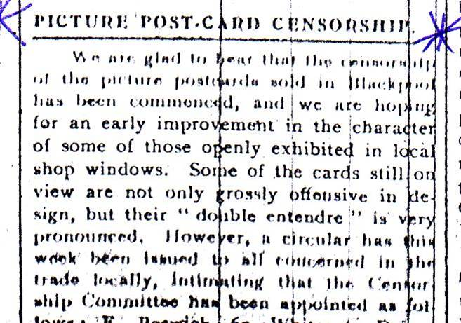 Postcard Censorship