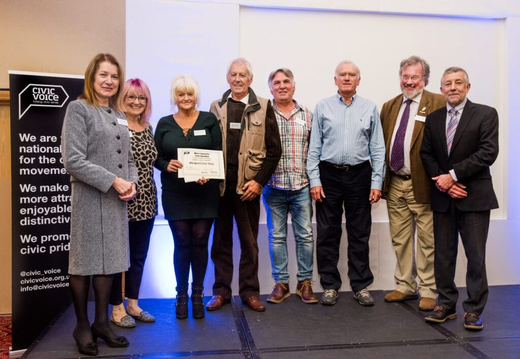 Blackpool Civic Trust win Civic Voice Award in 2017