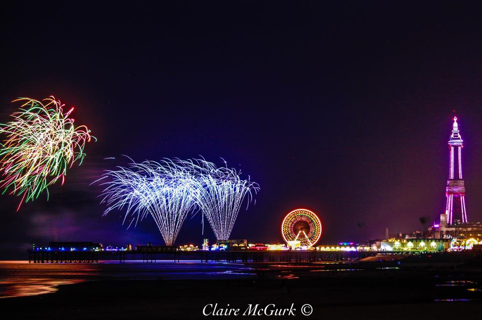 Blackpool World Firework Championships. Photo: Claire McGurk