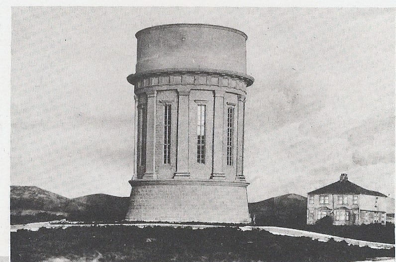 The newly finished Warbreck Water Tower. Photo: Andy Ball