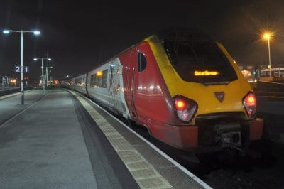 The First Direct Blackpool to London Train
