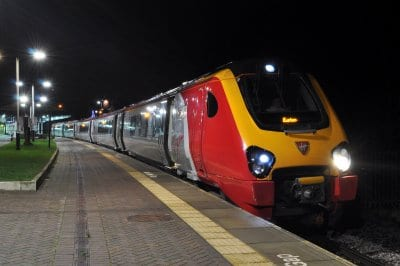 First train direct to London from Blackpool