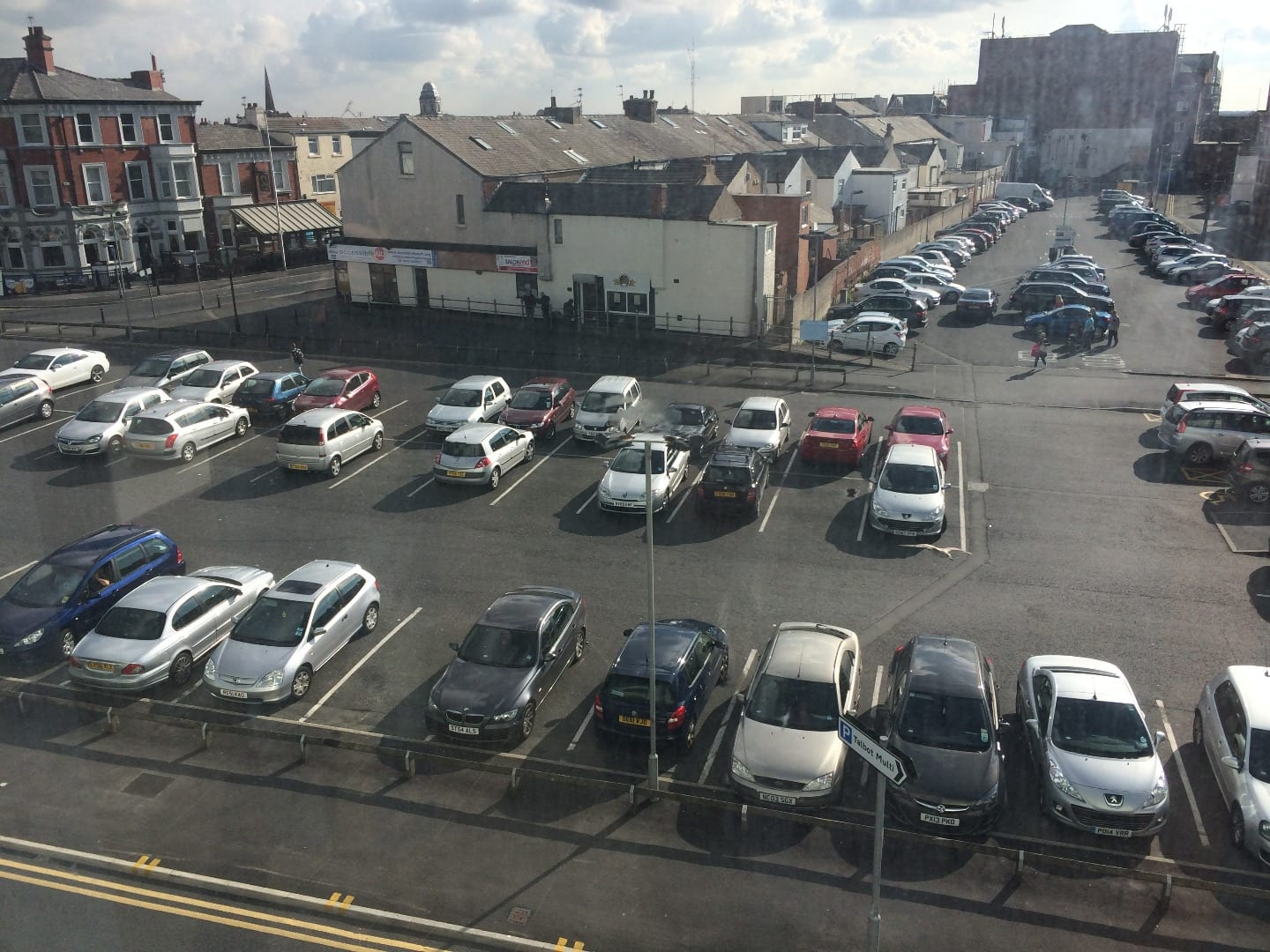 East Topping Street, parking in Blackpool town centre