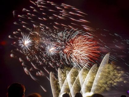 Bonfire and Fireworks at Blackpool Cricket Club