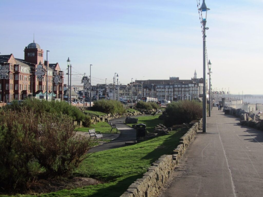 Jubilee Gardens Blackpool north shore