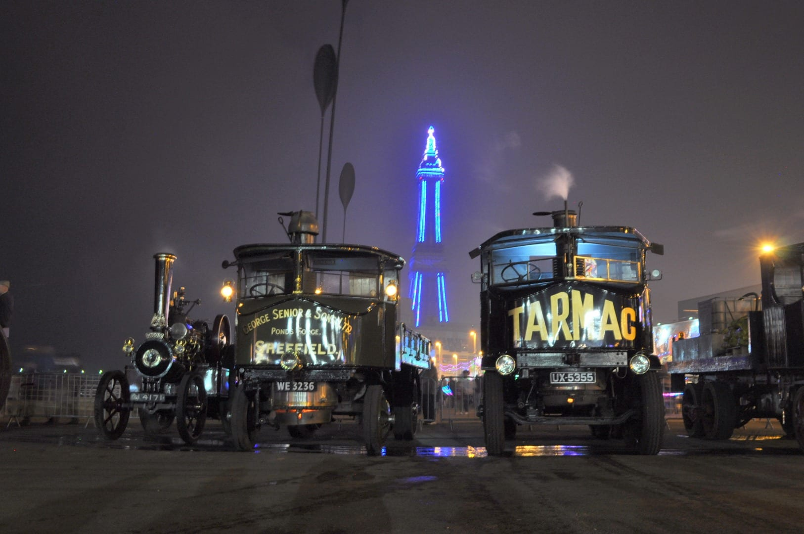 'MTOTO' and two of the Sentinels, pose near to Central Pier