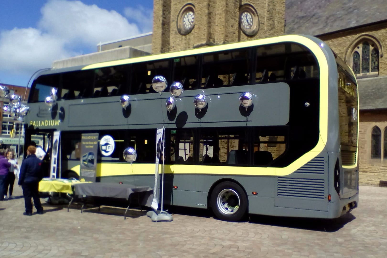 New Blackpool Transport Palladium double decker bus