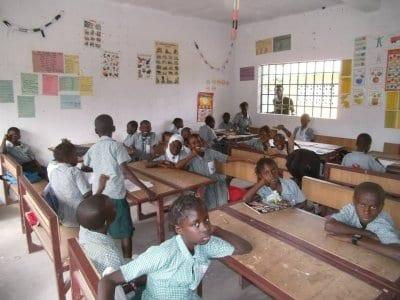 New classroom at Kotukala