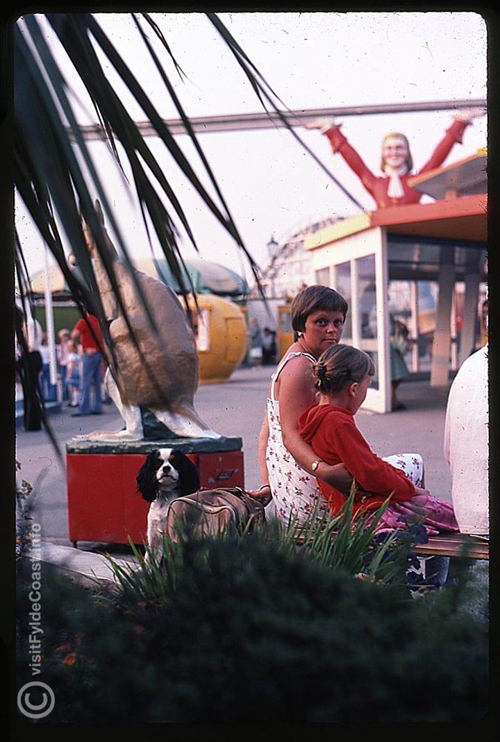 Blackpool pleasure beach staff