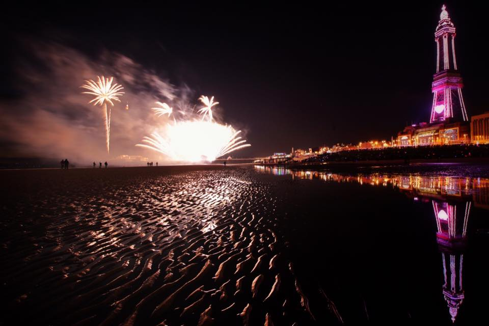 Blackpool World Firework Championships. Photo: Russell Howarth