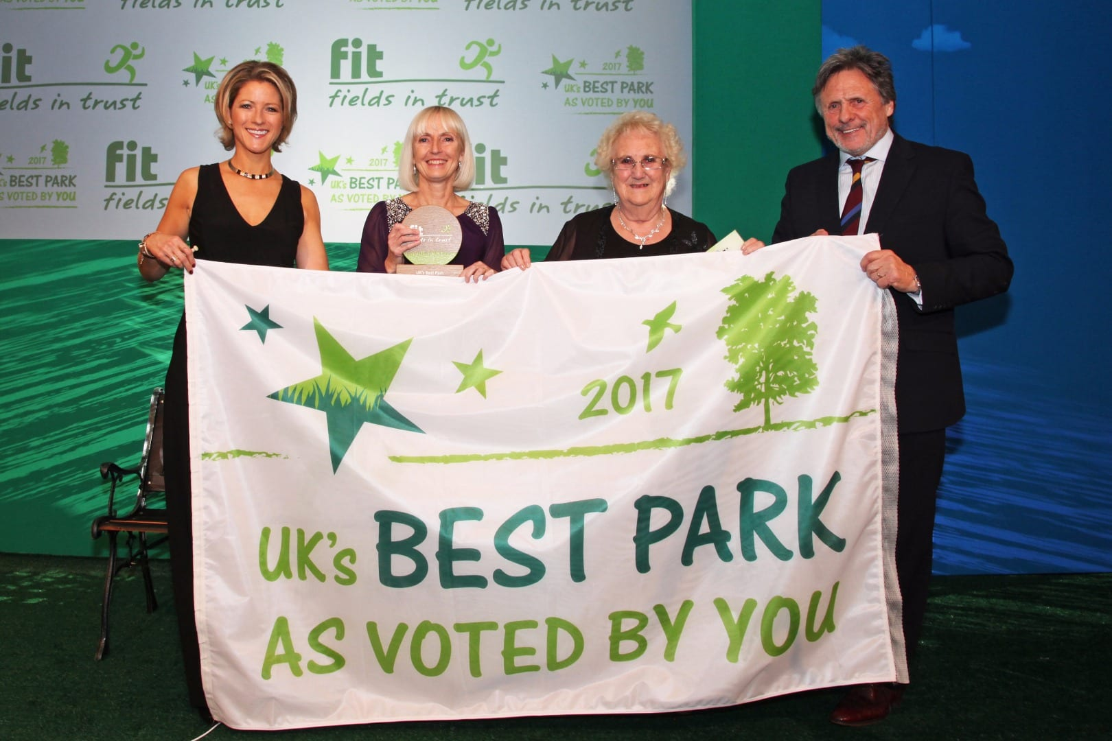 Stanley Park Blackpool, voted best in UK