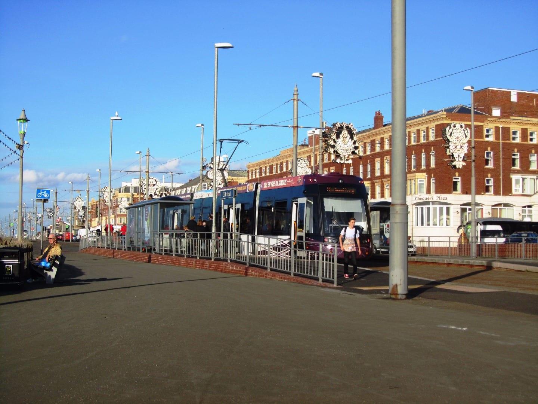 Tram at North Shore Blackpool