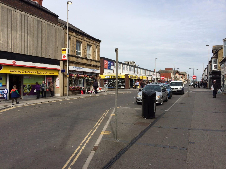 Waterloo Road at South Shore Blackpool