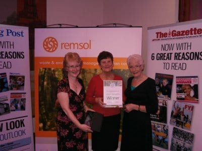 Friends of Highfield Road Park win Green Award
