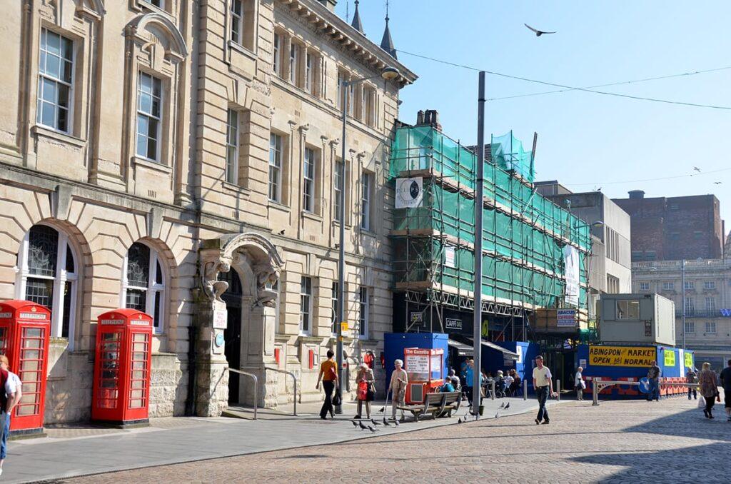 Building Works at Abingdon Street Market Blackpool
