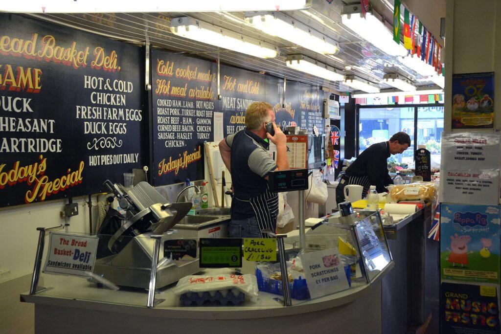 Stall in Abingdon Street Market