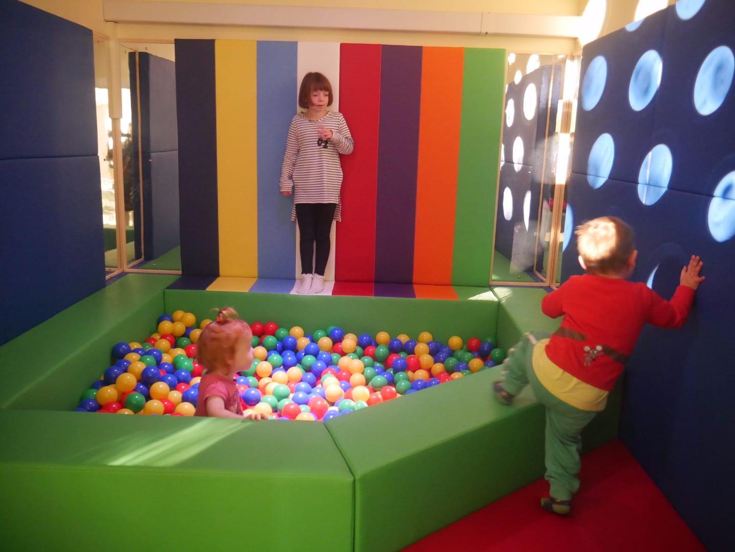 Aiming Higher Ball Pool and Sensory Room