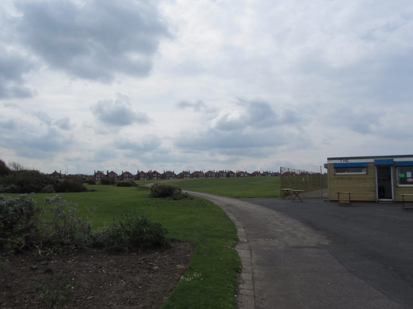 Anchorsholme Park Blackpool before construction projects