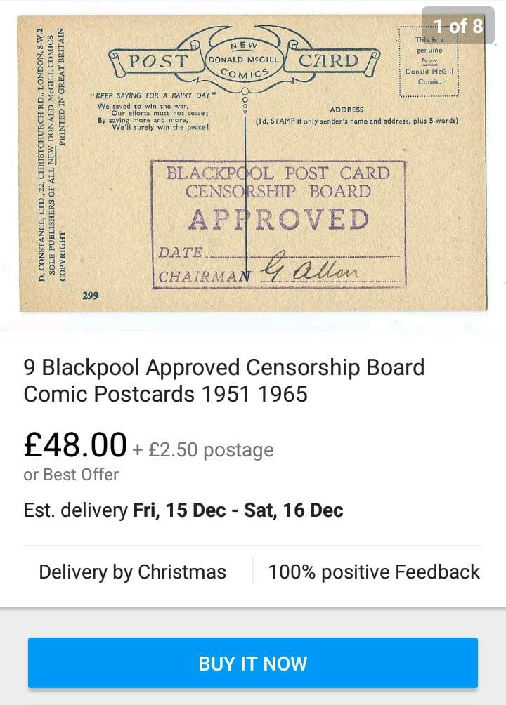 Approved postcards for sale on ebay