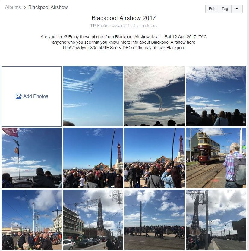 Blackpool Airshow 2019 - make a date with Live Blackpool