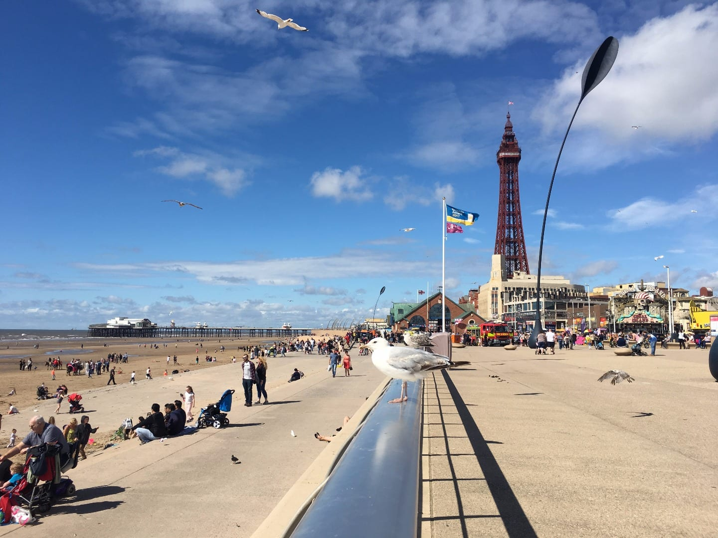 Blackpool Central seafront