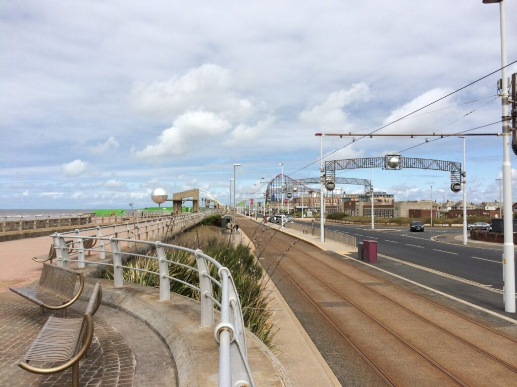 South Shore: South Promenade and Squires Gate