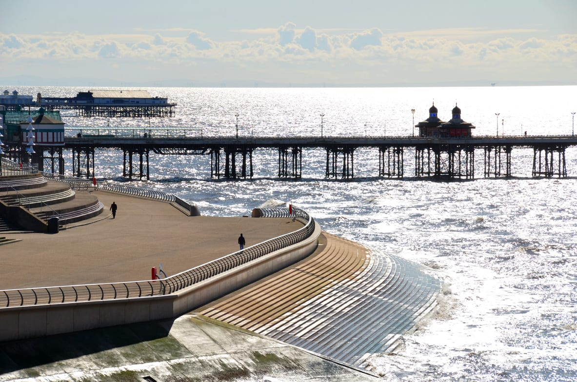 Blackpool North Pier - Protecting Blackpool's Piers