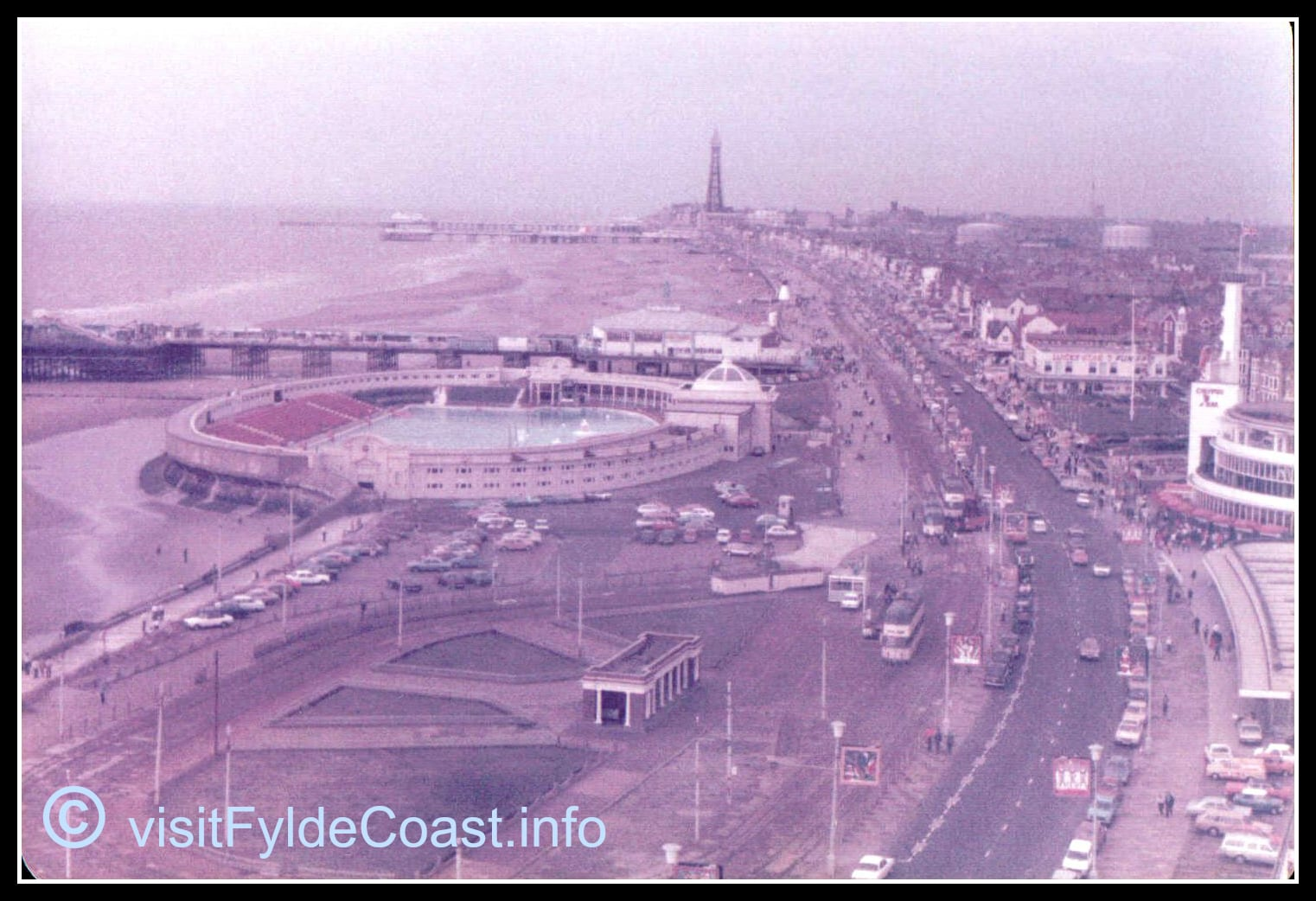 Blackpool Open Air Baths. Our Old Blackpool Photos - archives from Visit Fylde Coast